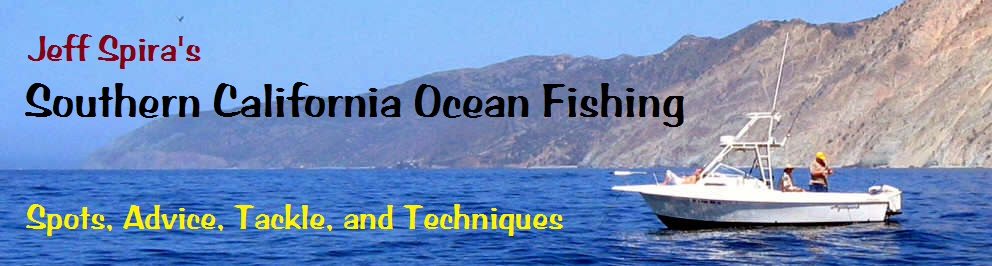 Jeff Spira Fishing Information header graphic