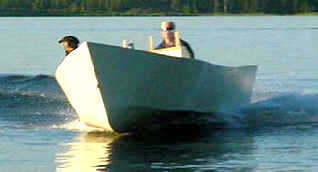 Fishing boat plans